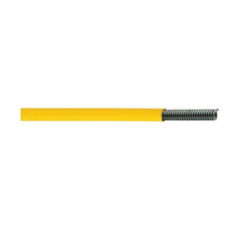 Guaina cambio 4 mm giallo 1 metro