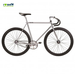 bici fixed cromata lusso n line shop bike single speed