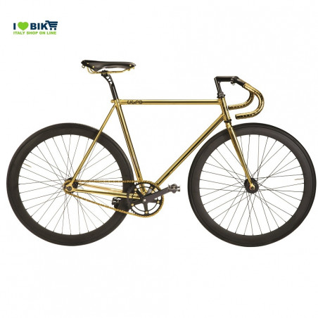 CIGNO FIXED ORO SELLA bici fixed luxury shop