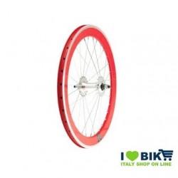 40705RSKK Ruote Fixed 20, profilo 40mm, colore rosso