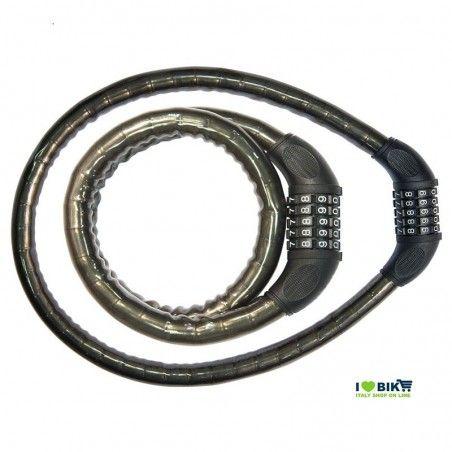 LU54N Lucchetto Combinazione 90 cm x 18 mm nero online shop
