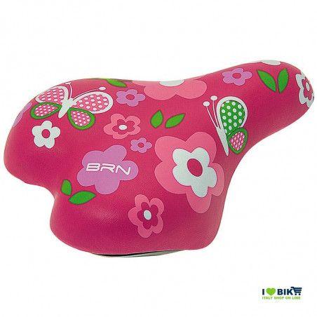 Saddle child 12-16 flower pink