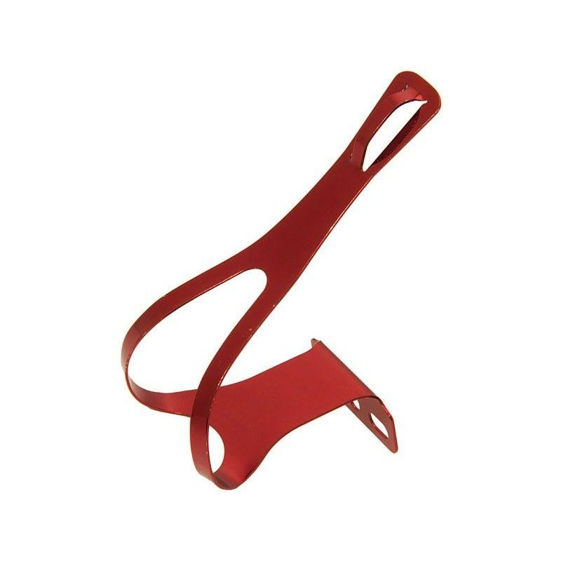 PU10R puntapiedi in alluminio rosso