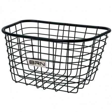 Front basket black iron Iceland