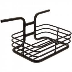 Front aluminum basket black column bike shop