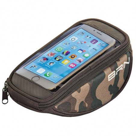 Handbag bike FIXED smartphone camuflage green