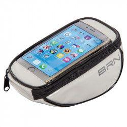 BO86W Borsetta BRN FIXED portaoggetti e porta smartphone bianca