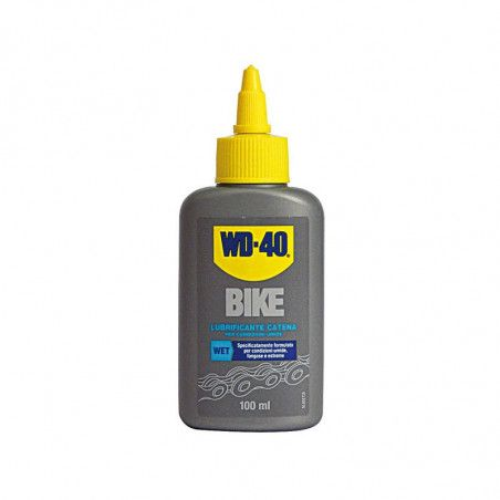 Lubricant WD 40 to drop to 100 ml wet conditions