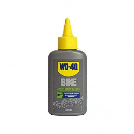 Lubricant WD 40 to drop to 100 ml dry conditions