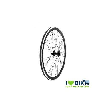 Fixed 9x4 wheel rays on bearings black