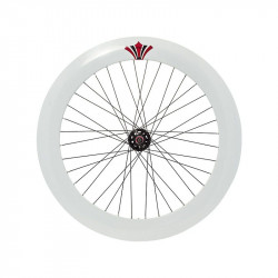 RFIXED70B Ruota bici fixed online shop bianca