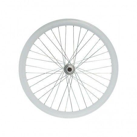 RFIXEDAB Ruota bici fixed online shop anteriore bianca