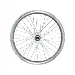Fixed front wheel silver (circle 43 mm)
