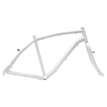 "Aluminum frame City Bike ""Elegance"" man measuring 50 white"