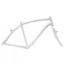 "Aluminum frame City Bike ""Elegance"" man measuring 54 white"