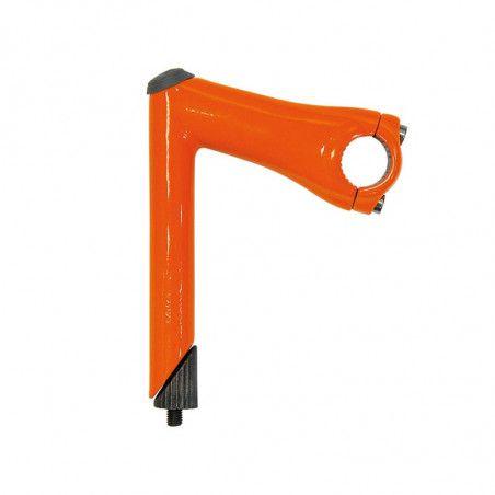 Column aluminum race / fixed orange fluo