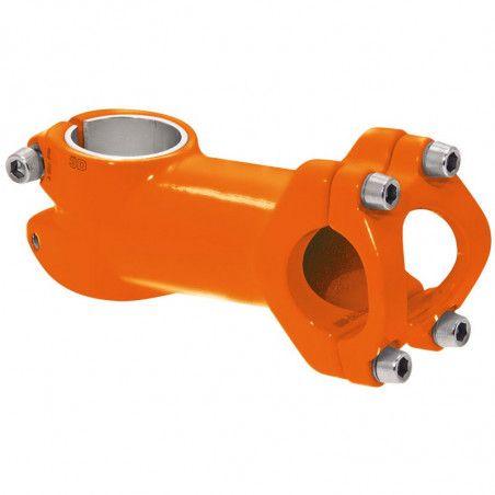 Attack aluminum Race / MTB / Fixed orange fluo