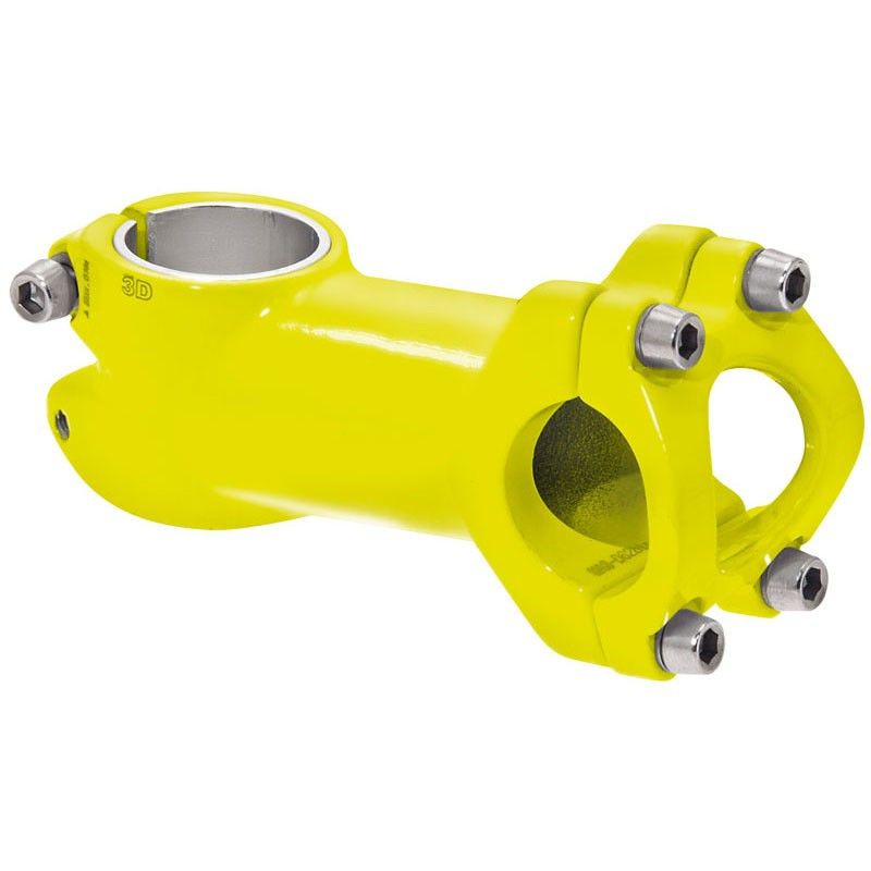 Attack aluminum Race / MTB / Fixed yellow fluo BRN - 1