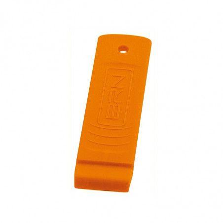 LE03A Levagomma in plastica BRN arancio fluo