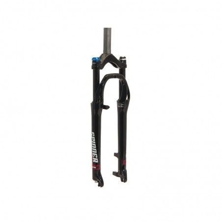 Fork 28 City cushioned aluminum Head-Set ø 25.4 Adjustable Lock-Out