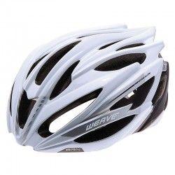 Helmet BRN WEAVE white/gray size  L (58-62 cm)