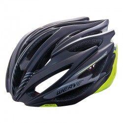 Helmet BRN WEAVE black/yellow size L (58-62 cm)
