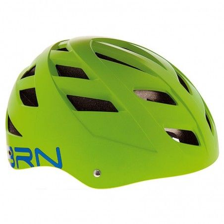 Helmet BRN STREET green one size (51-56 cm)