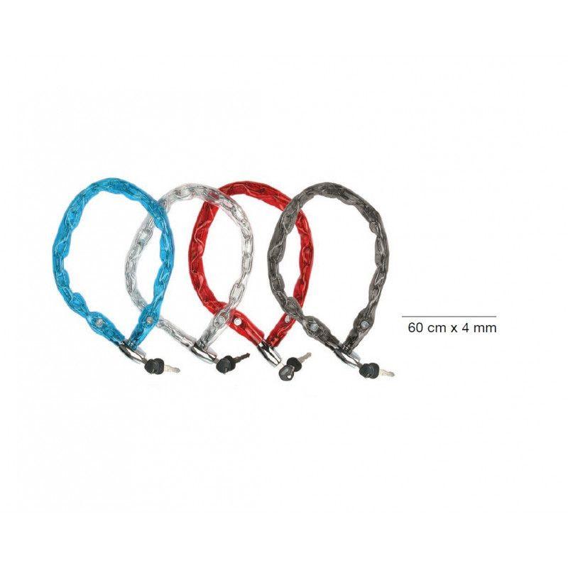 LU39 vendita lucchetti a catena e luccheto per biciclette negozio accessori bici e bike on line