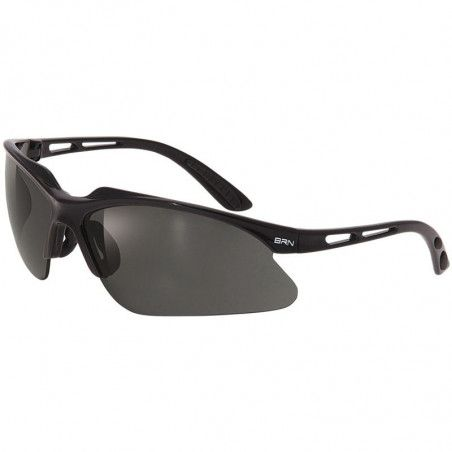 Eyewear BRN Weave Glossy Black - 3 interchangeable lenses