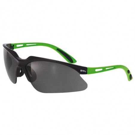 Eyewear BRN Weave green Fluo matt - 3 interchangeable lenses
