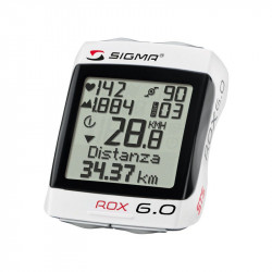 Bike Computer Sigma Rox 6.0 Wireless with cardio / Altimeter