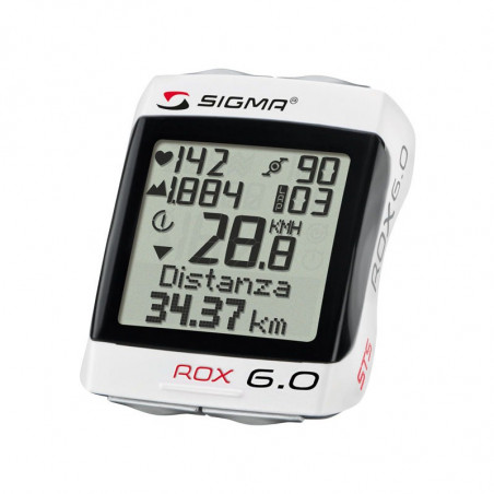 Bike Computer Sigma Rox 6.0 Wireless with cardio / Altimeter