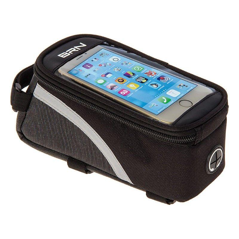 BO34M Borsetta BRN Touch portaoggetti e porta smartphone nera Media online shop