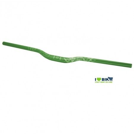 Aluminum handlebar Wag Over size 31, 8mm Green anodized