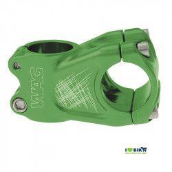 Stem Wag aluminum A-head green anodized
