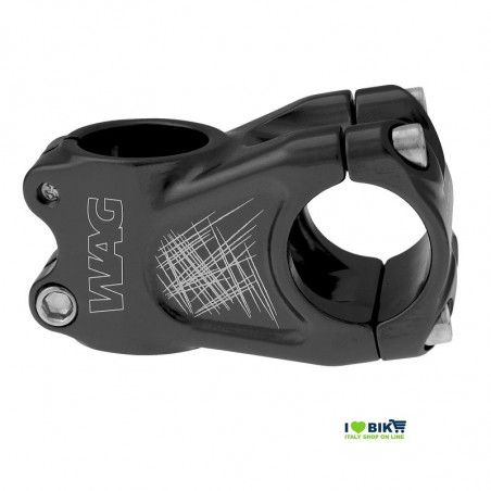 Stem Wag aluminum A-head black anodized