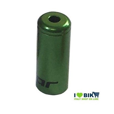 Casing end to exchange Green anodized aluminum ø 4 x 12 mm