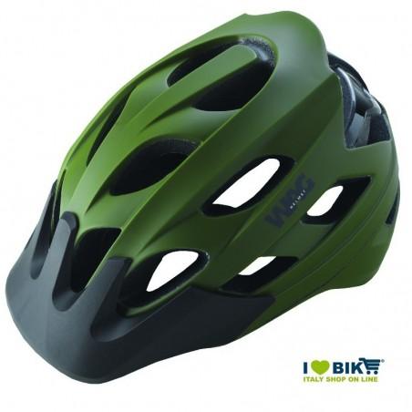 Homologated helmet MTB green-black size L sale online