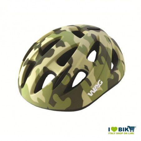 Casco bici sky kid verde militare taglia XS vendita online