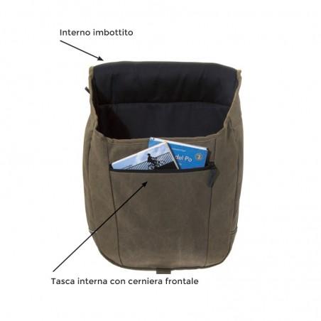 Bike bags BRN Tex waterproof green shop online