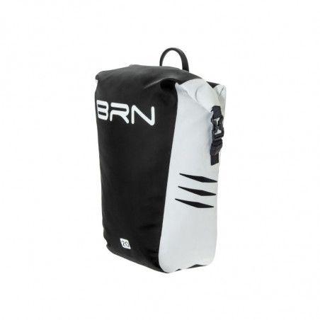 BRN touring bike bag Himalaya White