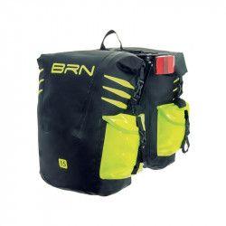 Borse bicicletta cicloturismo BRN Amazzonia nere/giallo fluo vendita online