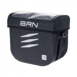 Bag cycling BRN Alaska Black mount to the handlebar universal online shop