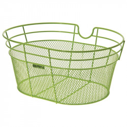 Honey-colored bicycle basket front accessories