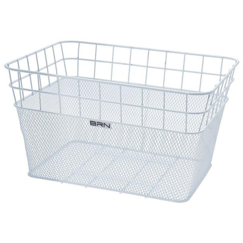 Front basket Belgium white BRN - 1