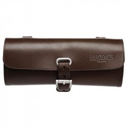 Small bicycle saddle bag Brooks Challenge brown online shop