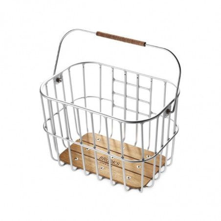 Vintage basket bike Brooks Hoxton aluminum online shop