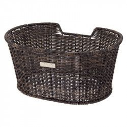 Basket bicycle front BRN Liberty Vintage Coffee sale online