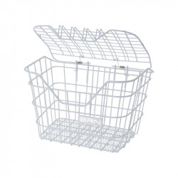 Basket bike antiscippo Casket white sale online