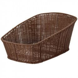 Rear bike basket BRN Hawaii brown online shop